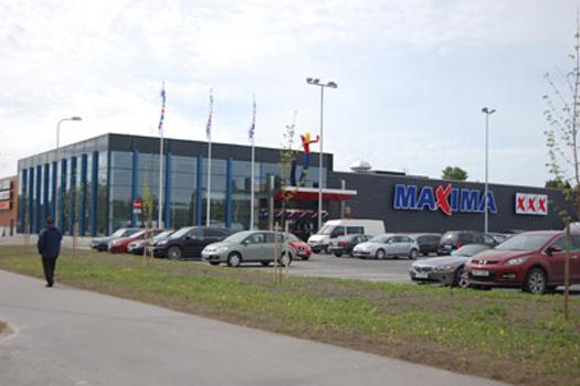 Maxima XXX в Пярну. Фото: maximagrupe.eu .