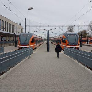 Поезда Elron. Автор фото:  Виталий Фактулин.